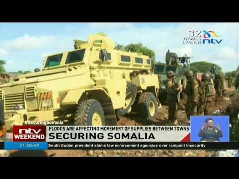 A look into how KDF troops prepare to combat Al Shabaab militia  #SecuringSomalia