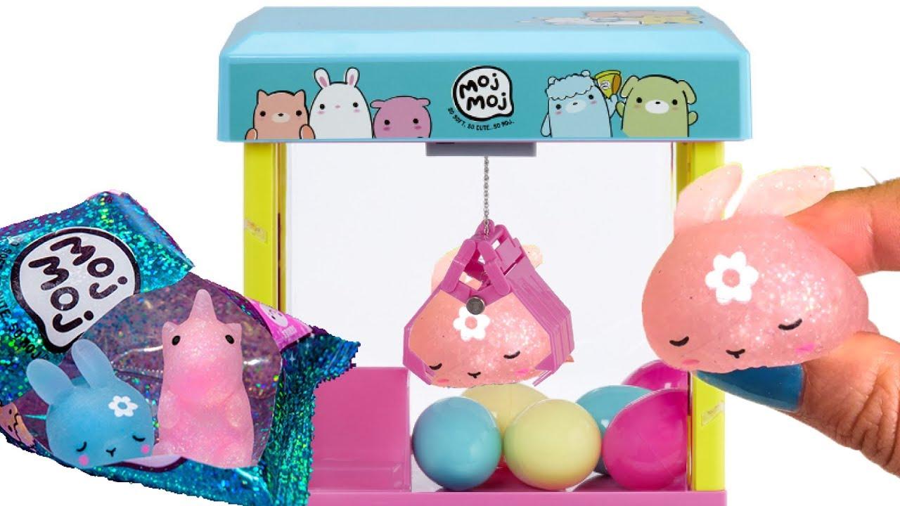 Moj Moj squishy toys ! Claw Machine + pakje uitpakken #2 ...