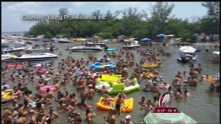 Coast Guard puts party boats of the Sandbar Extravaganza in hot water