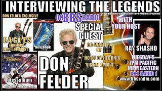 Don Felder Former Eagles Lead Guitarist Exclusive Interview