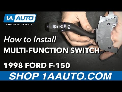 How to Replace Turn Signal Wiper Switch Lever 97-98 Ford F-150