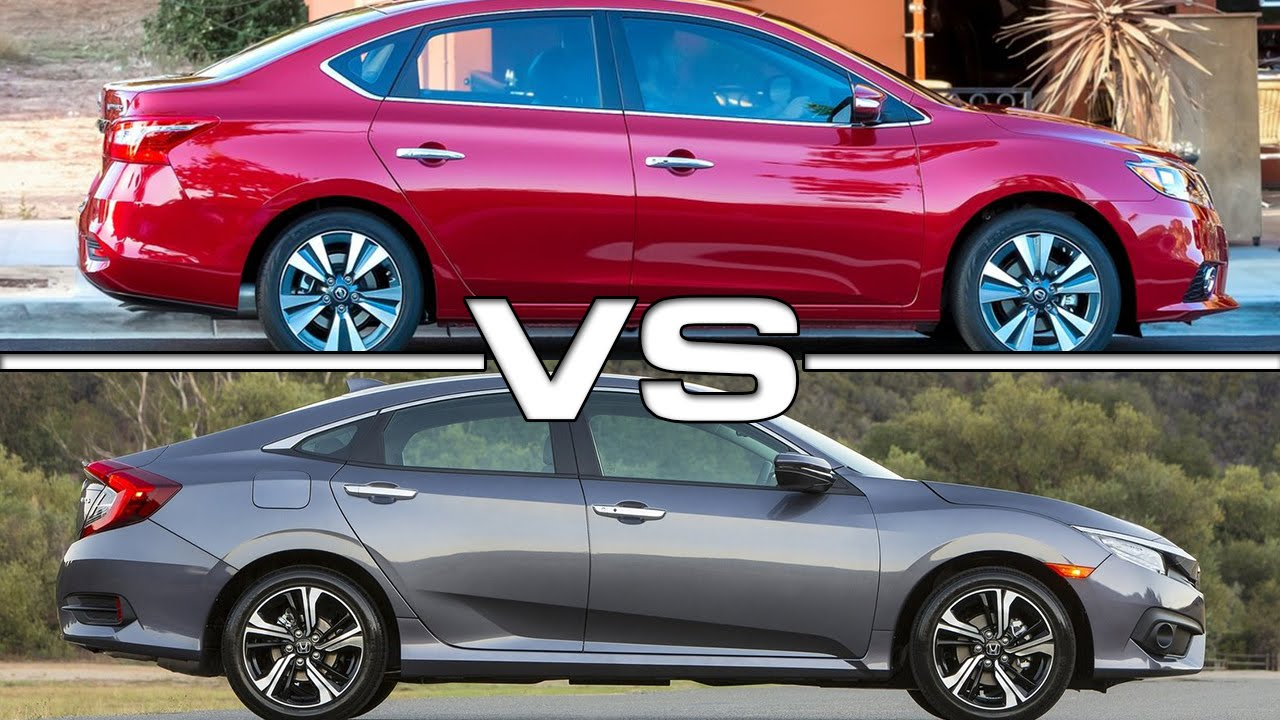Great Nissan Sentra Vs Honda Civic