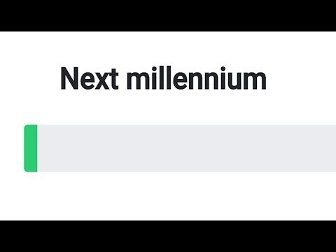 Slowest Progress Bars On The Internet!