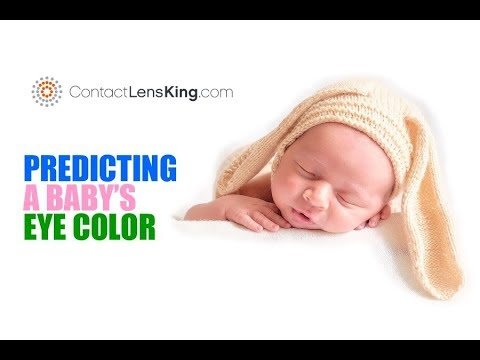 About Kids The Color Of Eyes