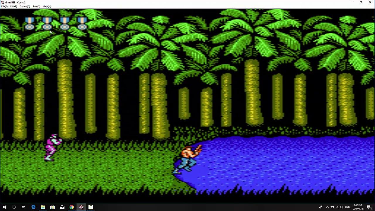 Game Contra 2 –  Phá đảo với tuổi thơ nhập vai [Màn 1, 2, 3, 4, 5]
