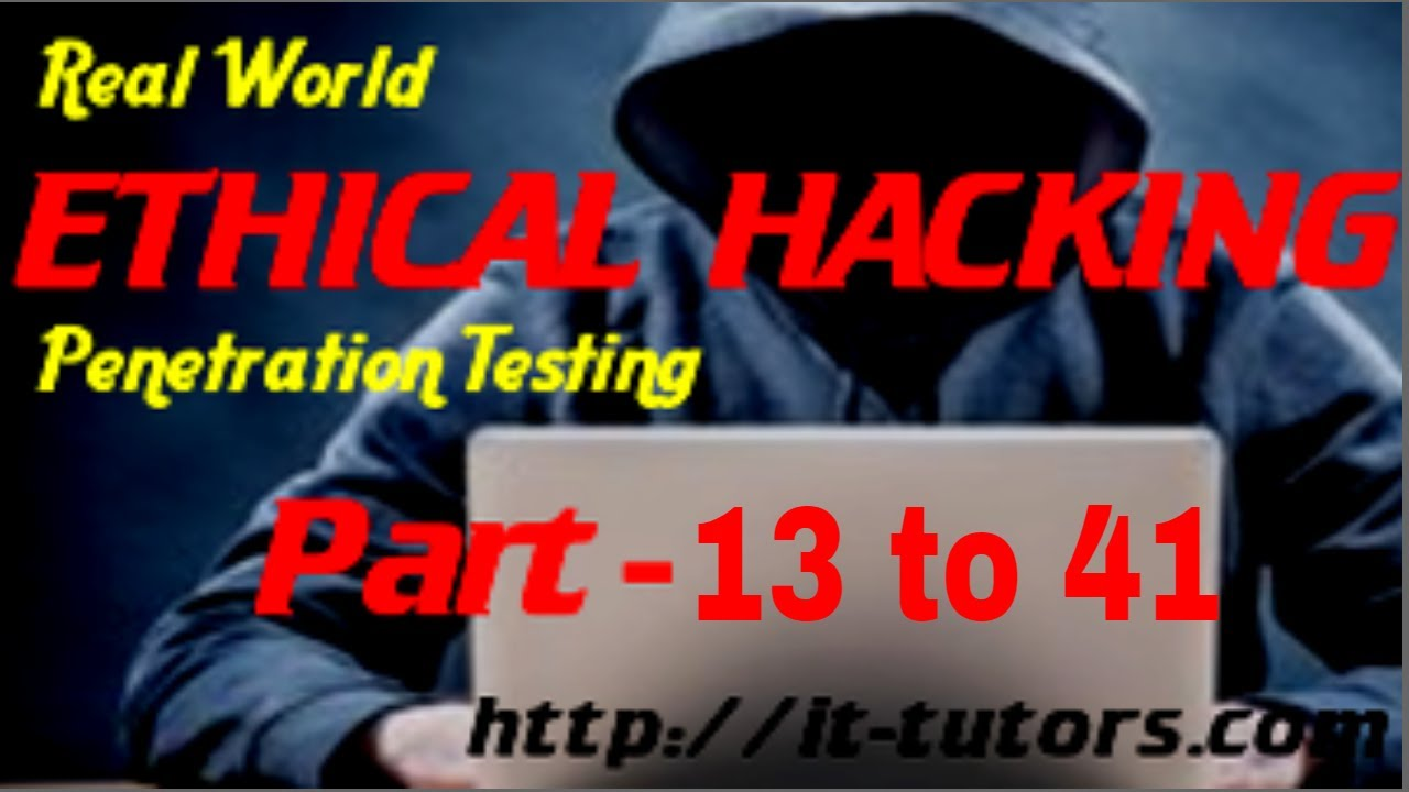 Real World Hacking Penetration Testing Udemy Full Course Free