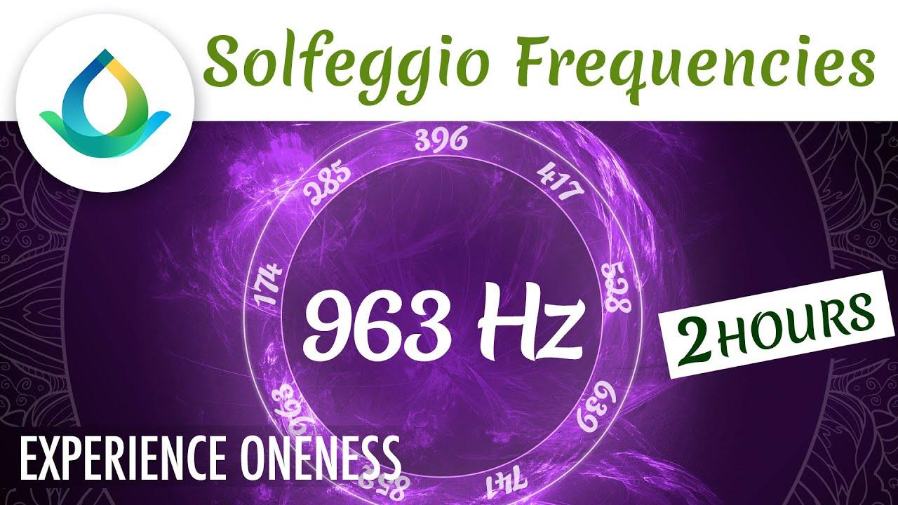 963 Hz ✨ Fréquence Sacrée | Musique pour se connecter à l'Univers