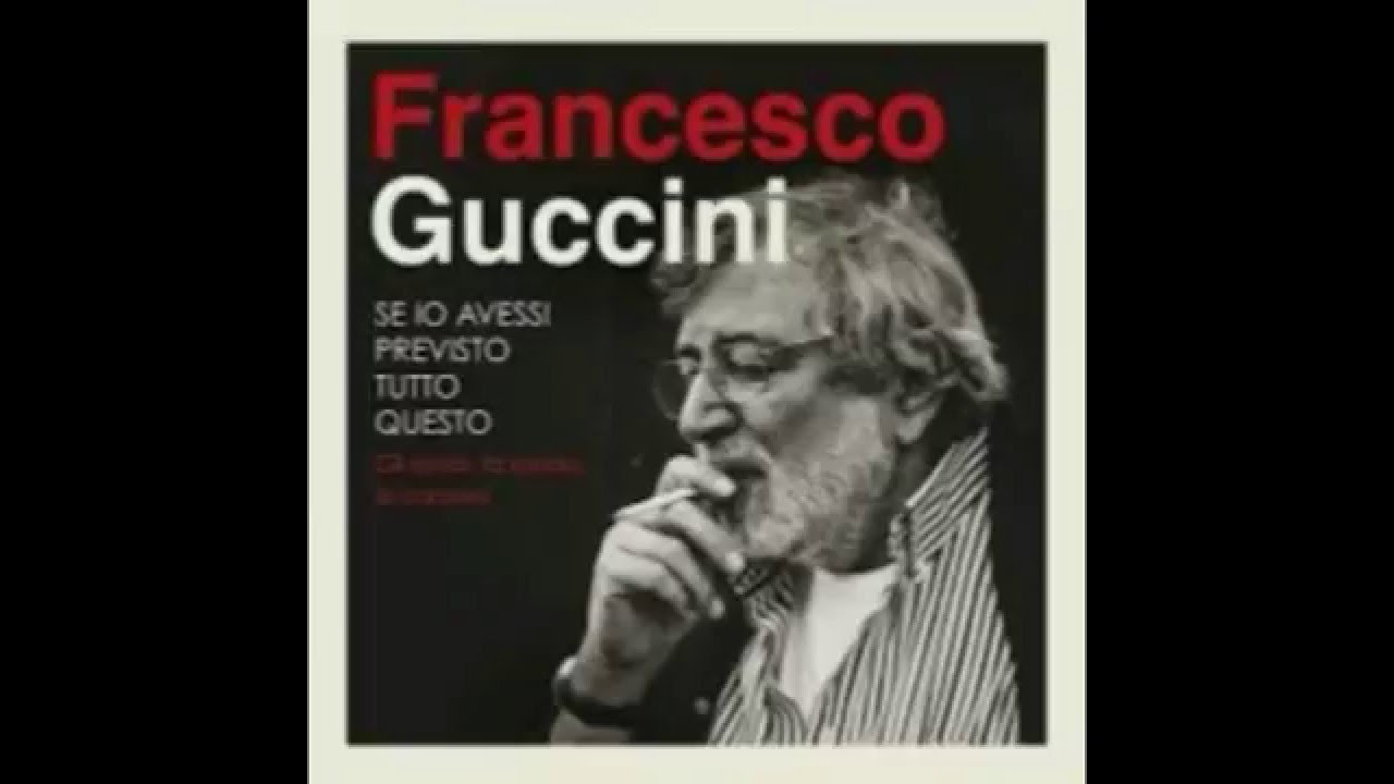 Francesco guccini cirano live youtube for Guccini arredamenti