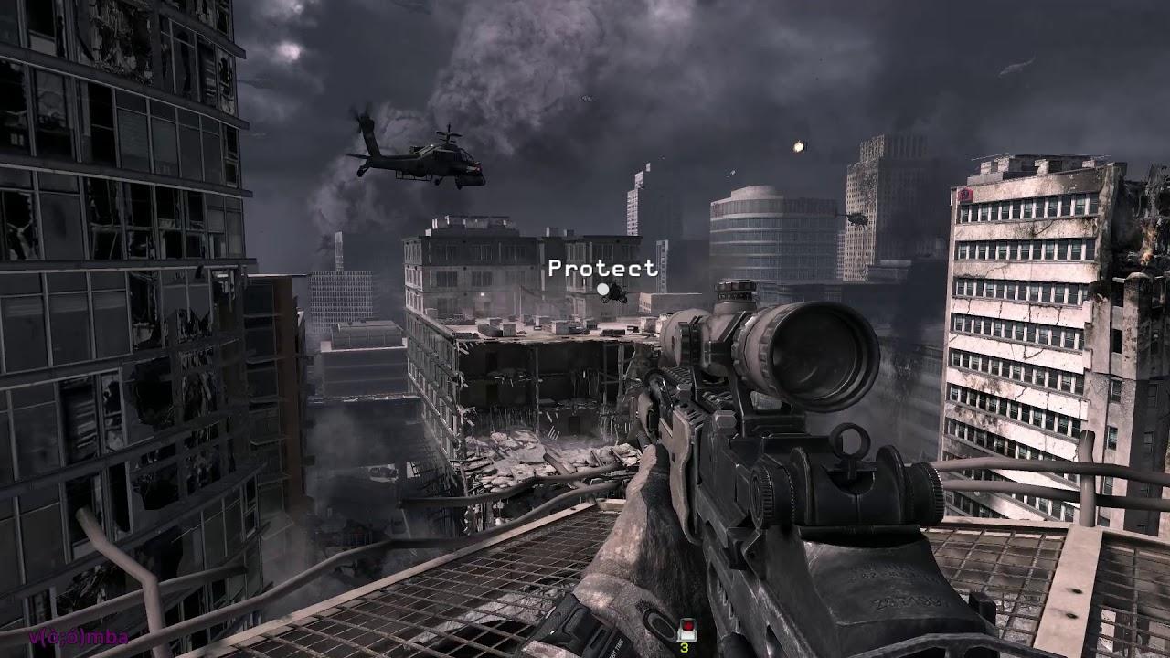 Call Of Duty Modern Warfare 3 Scorched Earth Frost 21 9 Ultrawide Screen Youtube