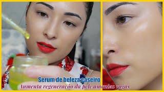 SERUM DE BELEZA CASEIRO – ajuda amenizar rugas, aumenta a regeneração da pele e clareia pele