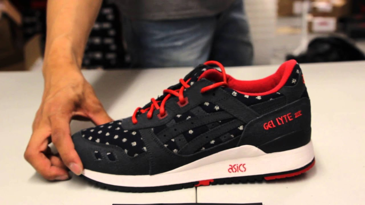 Asics Lyte BAIT Gel Lyte III x BAIT Nippon Blue Unboxing Nippon @ Exclucity YouTube 5a22594 - christopherbooneavalere.website
