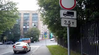 Смотреть видео Москва 378 2-й (второй) Электрозаводский переулок, бизнес-парк Лефорт лето день онлайн