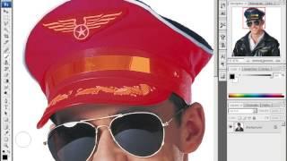 Уроки Adobe Photoshop CS3 - урок 9 - Фотомонтаж 2