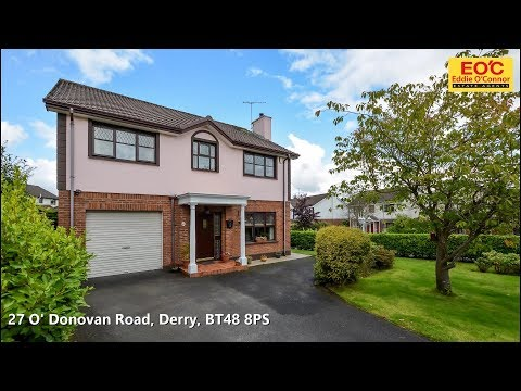 27 O' Donovan Road, Derry, BT48 8PS