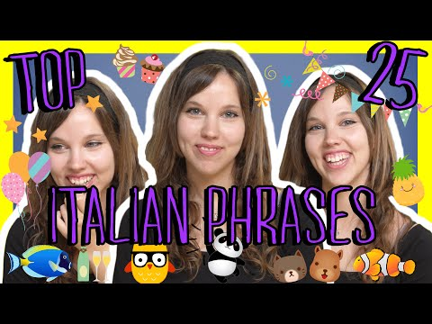 Learn the Top 25 Must-Know Italian Phrases!