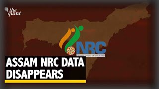 Why Did the Final NRC List Disappear from the Assam NRC Website? | The Quint
