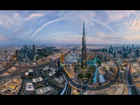 Google Earth Flight Simulator (Flight over United Arab Emirates: AbuDhabi/Dubai/Sharjah)