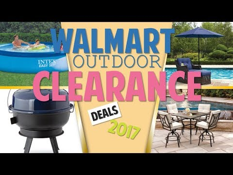 Walmart Outdoor Clearance September 12   30, 2017 - Patio Furniture & BBQs +more