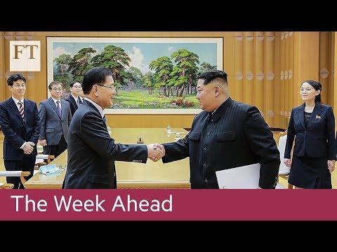 Korean summit, US tech group results, ECB decision