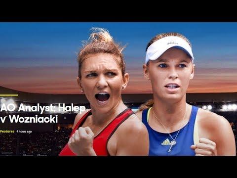 Australian Open 2018 (AO Analyst Halep v Wozniacki)