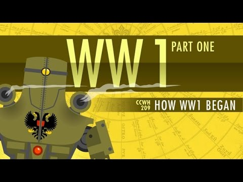 Thumbnail: HOW World War I Started: Crash Course World History 209