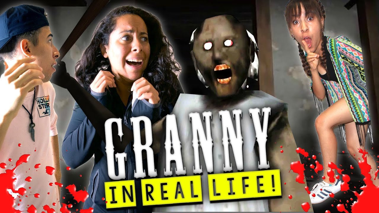 Granny Horror Game In Real Life Youtube
