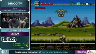 DinoCity by Mecha Richter in 22:56 - SGDQ 2016 - Part 73