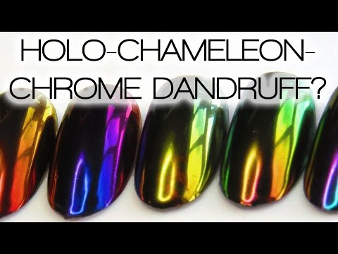 UNICORN CHAMELEON CHROME ROBOT DANDRUFF NAILS? Breaking Down The Nail Art Trends