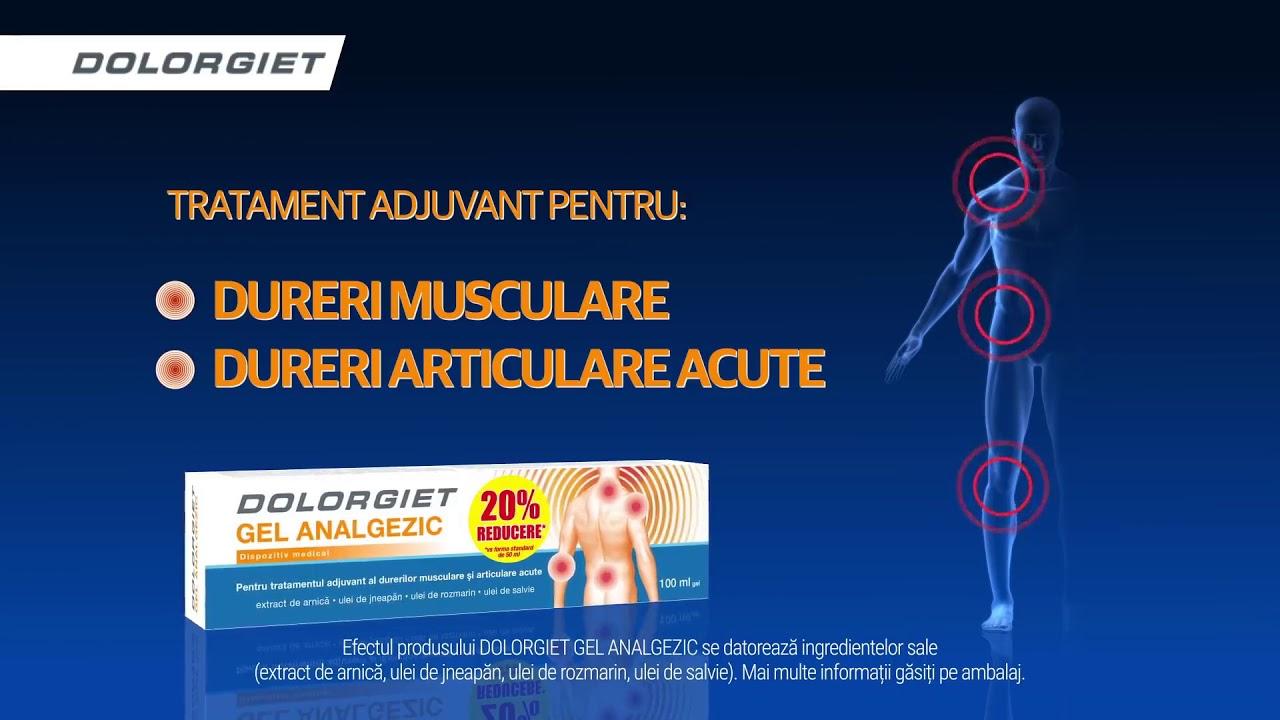 din dureri articulare acute)