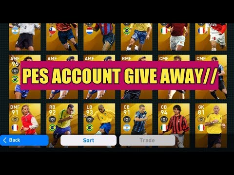 GIVE AWAY• PES ACCOUNT// PES 2020 MOBILE (Special Account)👉