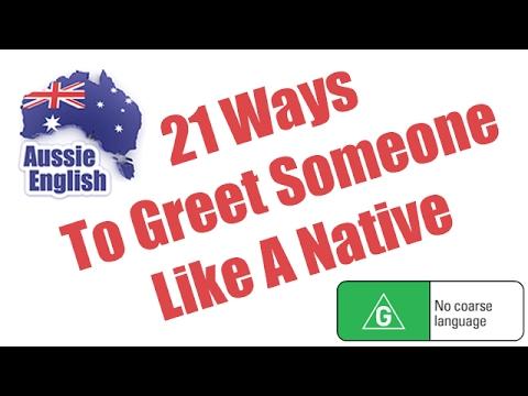 21 Ways To Greet Someone Like A Native | Learn Australian English