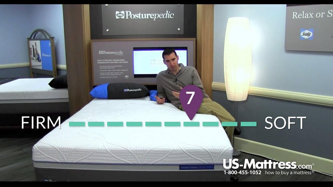 Sealy Posturepedic Hybrid Silver Plush Mattress