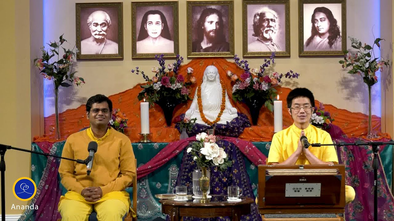 Healing Prayers for the World with Brahmacharis Sagar and Prashad