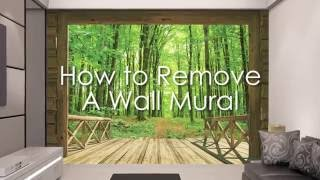 How To Remove A Wall Mural
