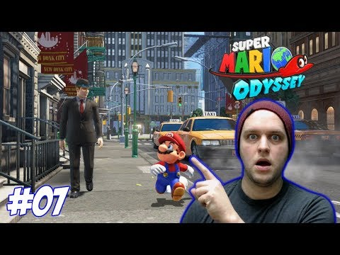 There's Humans In This Game?!?! - Super Mario Odyssey - Gameplay [#07]