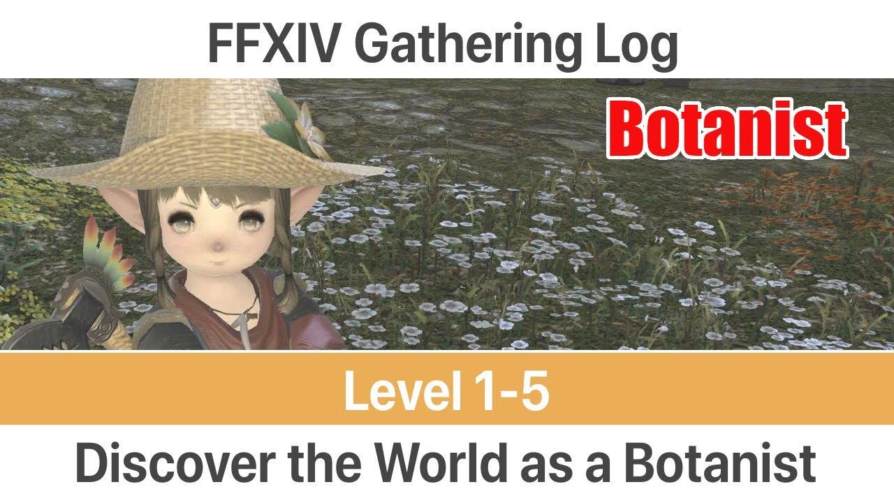 Ffxiv arr: mining/botany leveling guide youtube.