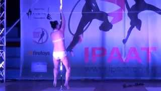 Jelian Nazarova - WINNER - Advanced Pole - IPAAT 2015