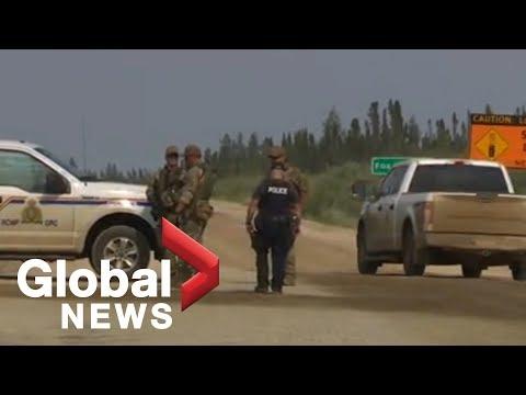 Manhunt for teen murder suspects believed to be in Manitoba
