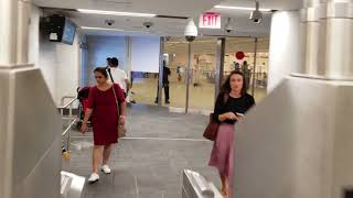 A tour of the new World Trade Center-Cortlandt St station.