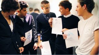One Direction drawing each other! ☆★