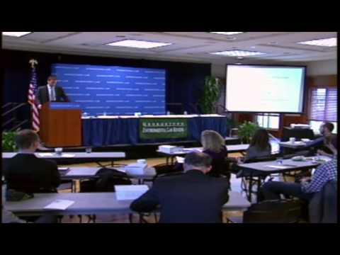 Michael Burger - Georgetown Environmental Law Review Symposium