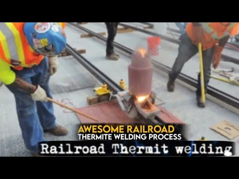 Thermit_Welding_PLA_process_Saeed_Thermit_Welder