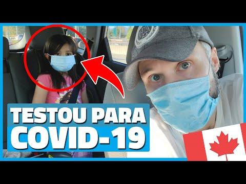 ELA FEZ O TESTE PARA COVID-19 NO CANADÁ! - Vlog Ep.149