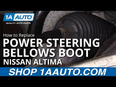 How to Replace Power Steering Bellows Boot 06-11 Nissan Altima