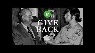 Give Back - Lessons From Our Founder
