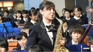 横浜創英高校 「宝島」第18回全日本高等学校吹奏楽大会