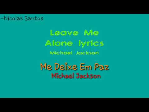 Michael Jackson Leave Me Alone (Legendado)