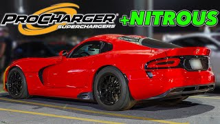 10 Cylinders Weren't Enough! (1067hp Supercharged Viper!)