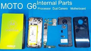 Motorola Moto G6 Full Disassembly    MOTO G6 Teardown /all Internal Parts Of Moto G6