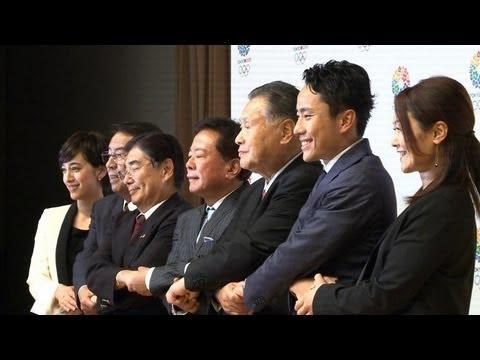 JO-2020: la délégation olympique acclamée à Tokyo